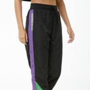 NEW with tags Forever 21- Colorblock Wind Pants